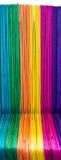 Cerca de madera colorida Imagen de archivo libre de regalías