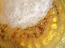 Textura de la cerveza fotografía de archivo
