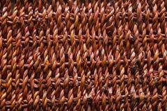 Textura de la cesta Imagen de archivo libre de regalías