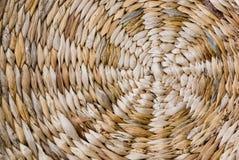 Textura de la cesta de mimbre Imagen de archivo