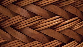 Textura de la cesta del mimbre o de la rota Textura inconsútil de alta resolución foto de archivo