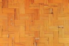 Textura de la cesta hecha a mano hecho de bambú foto de archivo