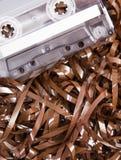 Textura de la cinta de la música para el fondo Imagenes de archivo