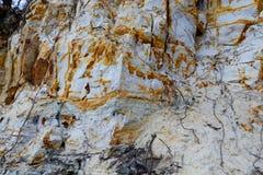 Textura de la costa de mar de la Roca-al-yegua Foto de archivo