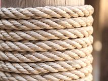 Textura de la cuerda Foto de archivo