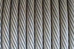 Textura de la cuerda de alambre Fotos de archivo