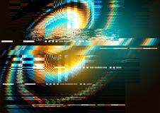 textura de la distorsión del ruido de la interferencia Imagen de archivo