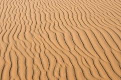 Textura de la duna de arena Fotografía de archivo