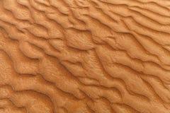 Textura de la duna de arena Foto de archivo libre de regalías