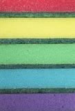 Textura de la esponja Foto de archivo libre de regalías
