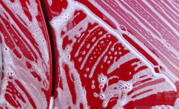 Textura de la espuma del túnel de lavado fotos de archivo libres de regalías