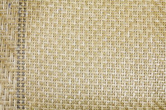Textura de la estera de bambú Fotografía de archivo libre de regalías