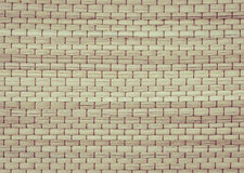 Textura de la estera de Reed Fotos de archivo libres de regalías