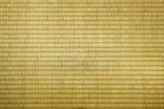 Textura de la estera de Tatami Imágenes de archivo libres de regalías
