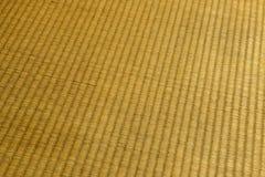 Textura de la estera de Tatami Fotos de archivo libres de regalías