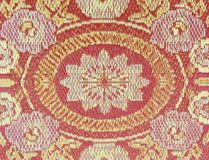Textura de la estera roja Foto de archivo