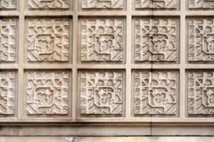 Textura de la fachada de mármol Foto de archivo