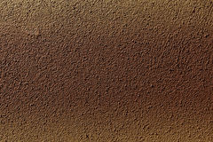 Textura de la fachada marrón del edificio Foto de archivo libre de regalías
