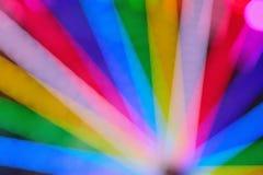 Textura de la falta de definición de las luces coloridas del carnaval Imagen de archivo libre de regalías