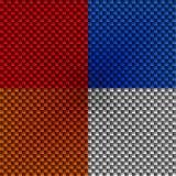 Textura de la fibra de carbono Ilustración del Vector