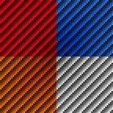Textura de la fibra de carbono Imagen de archivo