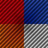 Textura de la fibra de carbono Stock de ilustración