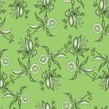 Textura 6 de la flor de la abstracción Stock de ilustración