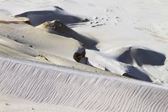 Textura de la formación de la arena fotos de archivo libres de regalías