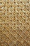Textura de la foto del modelo del oro Fotografía de archivo libre de regalías