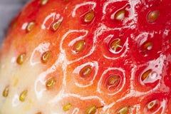 Textura de la fresa Foto de archivo libre de regalías