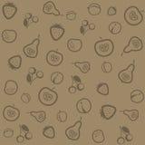 Textura de la fruta Fotografía de archivo libre de regalías