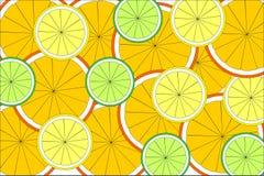 Textura de la fruta cítrica Fotos de archivo libres de regalías