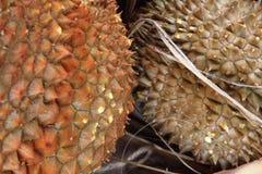 textura de la fruta del durian Fotos de archivo