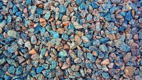Textura de la grava del granito para el diseño Textura de piedra colorida: pequeña grava enarenada Pequeñas piedras blancas, gris imagenes de archivo