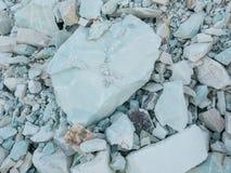 Textura de la grava de la zeolita Materiales adsorbentes ston machacado grava Imágenes de archivo libres de regalías