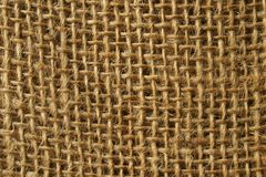 Textura de la harpillera Foto de archivo libre de regalías