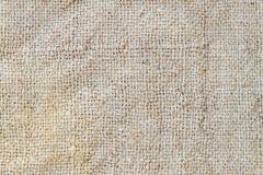 Textura de la harpillera Fotos de archivo