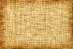 Textura de la harpillera de Brown o fondo y espacio vacío fotos de archivo
