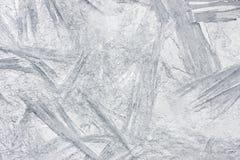 Textura de la helada Fotografía de archivo libre de regalías
