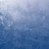 Textura de la helada Foto de archivo libre de regalías