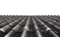 Textura de la hoja del tejado del cemento de la fibra Imagen de archivo