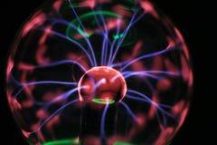 textura de la lámpara del plasma fotos de archivo libres de regalías