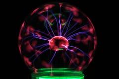 textura de la lámpara del plasma fotos de archivo