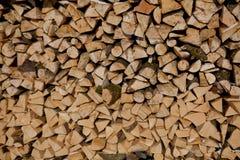 Textura de la leña, después de la madera del sawing Imagenes de archivo