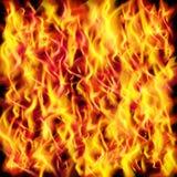 Textura de la llama del fuego del vector ilustración del vector