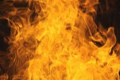 Textura de la llama del fuego del resplandor de Blurrd imagenes de archivo