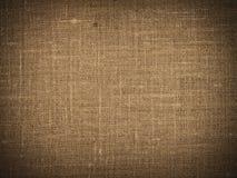 Textura de la lona de Brown Fotos de archivo libres de regalías