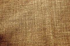 Textura de la lona de Brown imagen de archivo