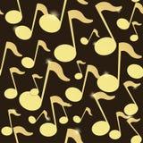 Textura de la música Ilustración del Vector