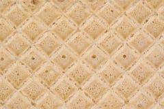 Textura de la macro de las galletas. Imagen de archivo libre de regalías